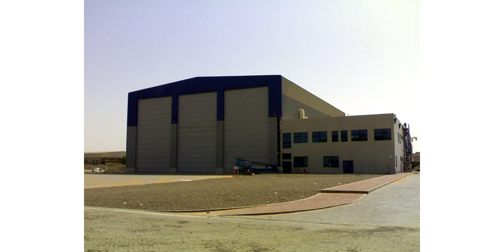 ASSA ABLOY multiple leaf shipyard door in Abu Dhabi