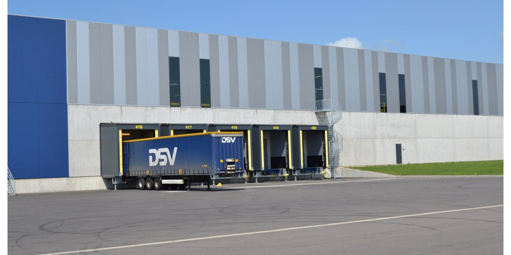 ASSA ABLOY loadhouse at DSV, Landskrona Sweden