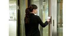 ASSA ABLOY Access-controlled revolving door