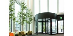 ASSA ABLOY RD3L high-capacity revolving door