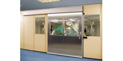 ASSA ABLOY hermetic sliding door system operating theater