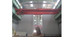 ASSA ABLOY Megadoor crane doors at China Nuclear Power in Dalian City, China